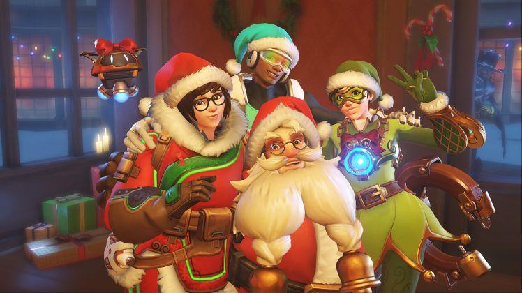 Communitylastige Multiplayerspiele wie Overwatch bieten oft saisonale Events an, deren Belohnungen sich nur in der entsprechenden Zeitspanne verdienen lassen. Quelle: Activision Blizzard.