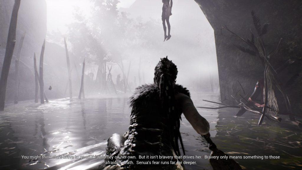Hellblade: Senua's Sacrifice. Screenshot: Pascal Wagner