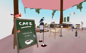 Ornithomancy Café. Künstler/in: Keane Ng. Screenshot: Pascal Wagner