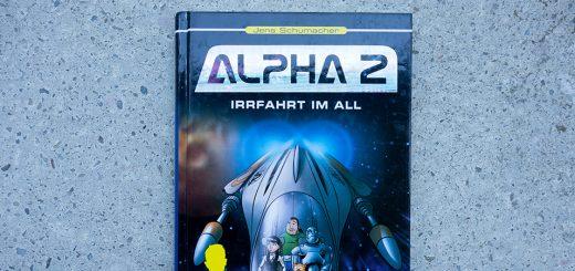 Das Cover von Alpha 2 – Irrfahrt im All.