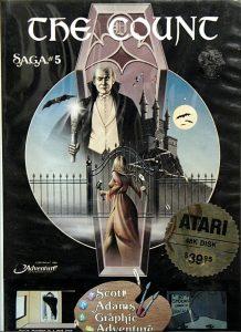 Verpackung der Atari 400/800-Version von The Count.