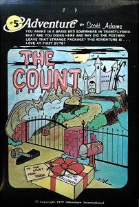 Verpackung der TRS-80-Version von The Count.