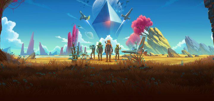 Das heute spielbare No Man's Sky ist kaum mehr mit dem zur Erstveröffentlichung zu vergleichen. Mehrere große kostenlose Zusatzinhalte wie das aktuelle NEXT-Update formten die Vision der Entwickler weiter. Quelle: Hello Games.