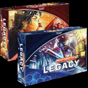 Pandemic Legacy ist das Paradebeispiel für sogenannte Legacy-Brettspiele. Quelle: zmangames.com