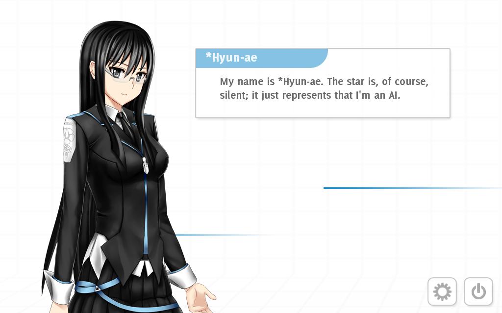 *Hyun-ae, eine der beiden Bord-KIs. Quelle: Analogue: A Hate Story.