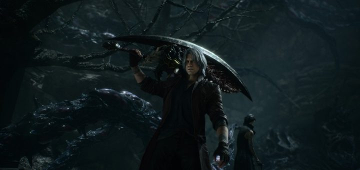 Dante mit Devil Sword Sparda in DMC5. Quelle: IGN.com