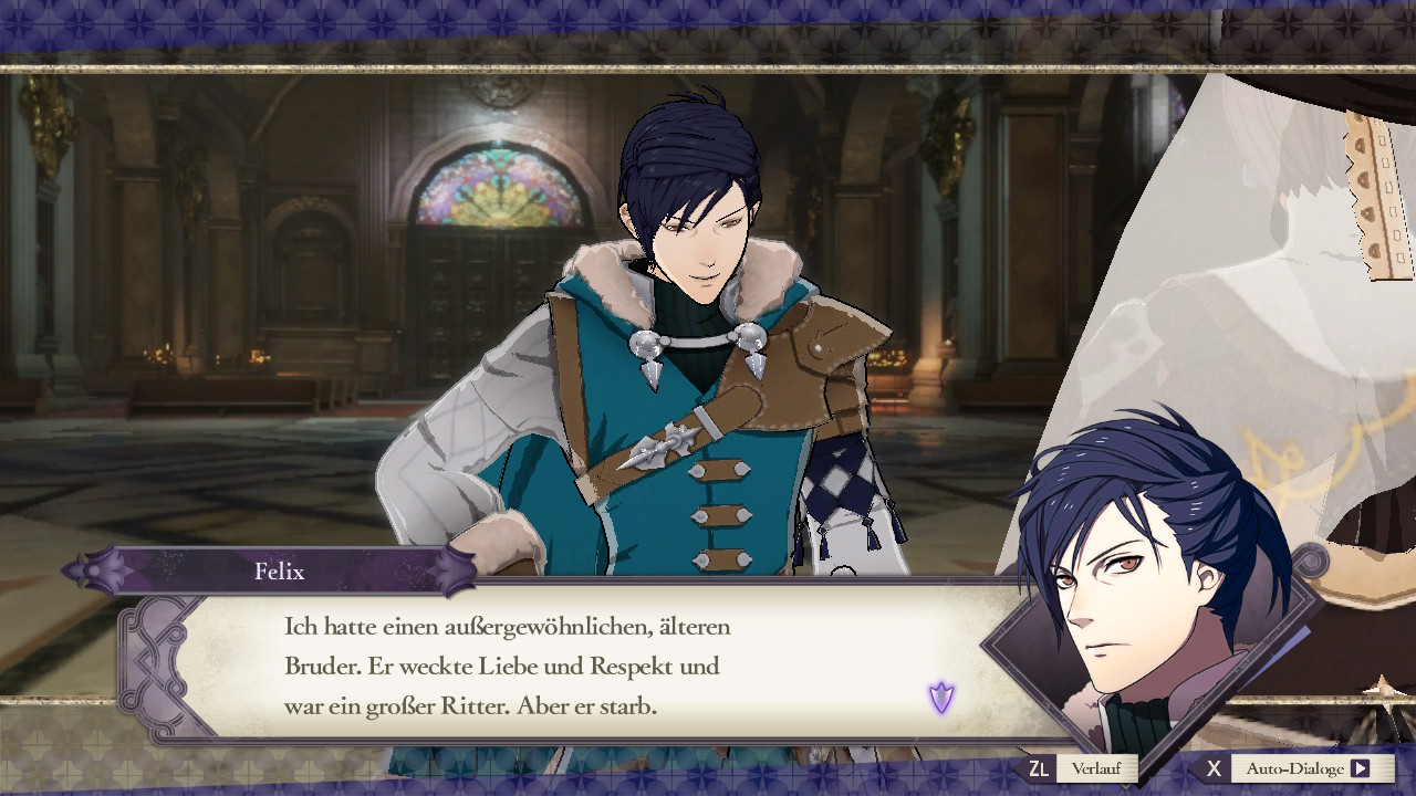 Fire Emblem: Three Houses Felix über Glenn