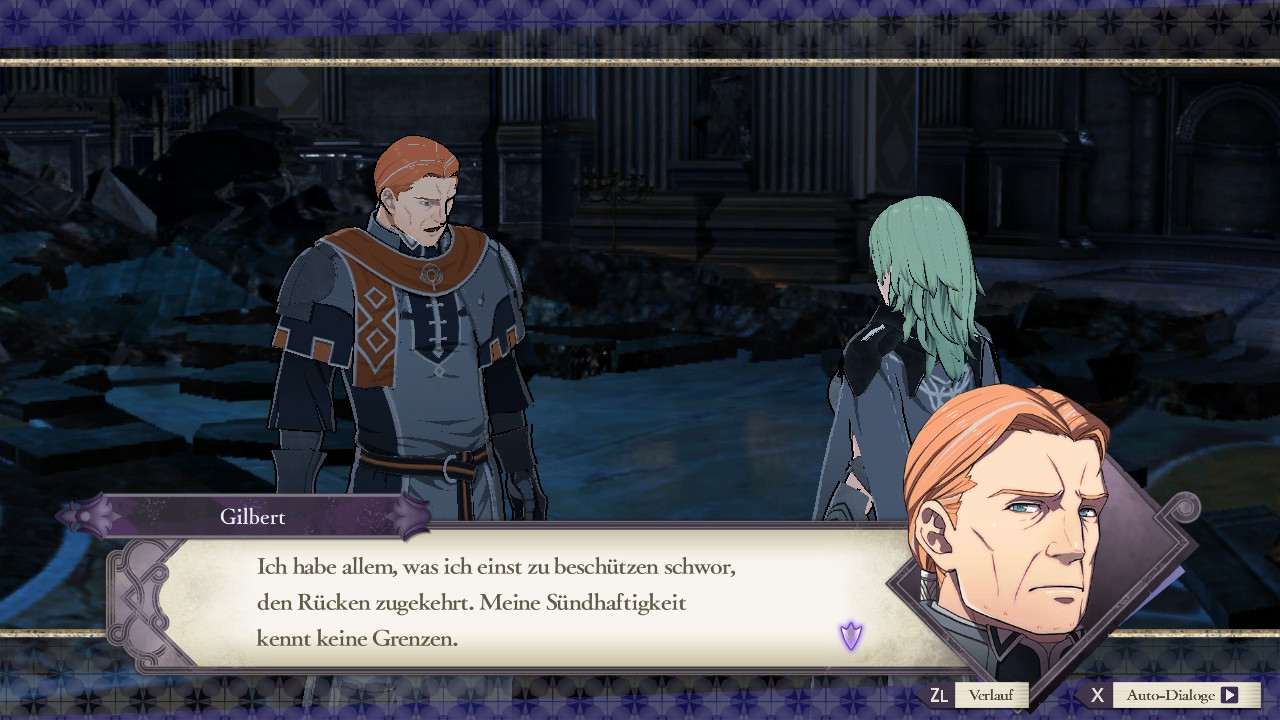 Fire Emblem: Three Houses Gilbert